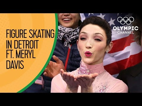 Meryl Davis is inspiring young girls through Figure Skating in Detroit!