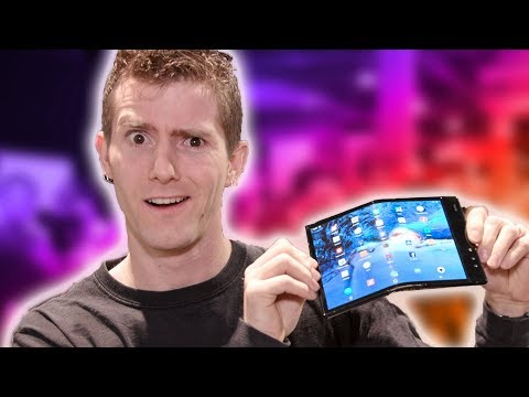 The PROBLEM with the Foldable Phone - Royal Flexpai