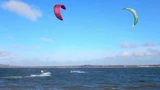 Kitesurfing - Mietków 19.03.2017