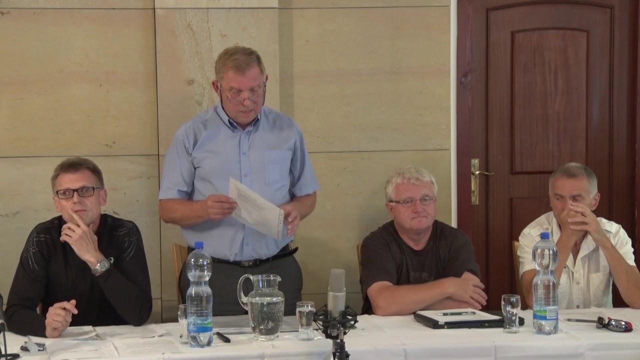 Zastupitelstvo města Hoštky - 20. zasedání 21.6.2018