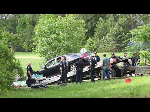 Vehicle Removed From Kalamazoo River After Mom Drove Into Water With Kids