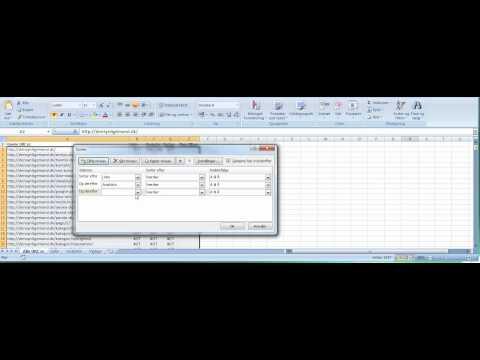 301 redirects af mange URL'er med Excel
