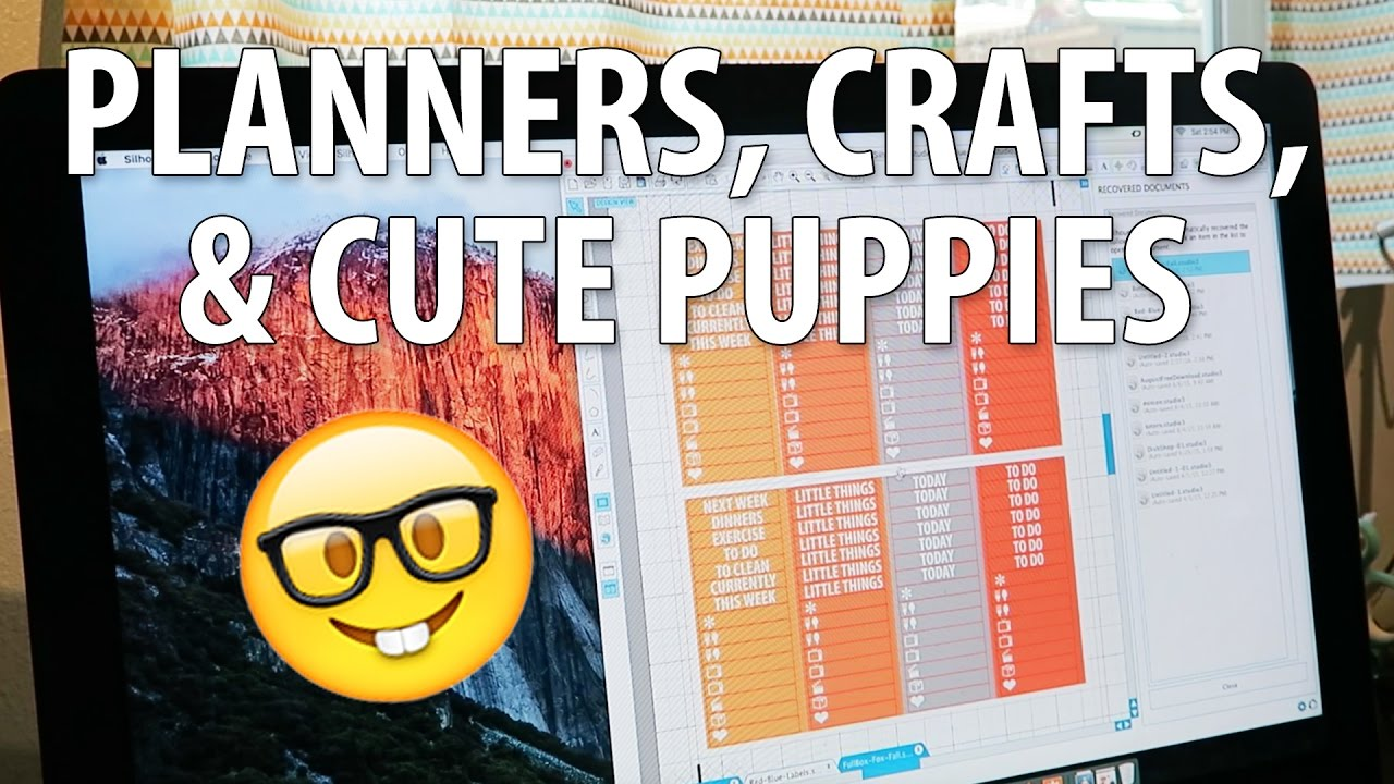 PLANNERS, CRAFTS, & CUTE PUPPIES | The Malloys