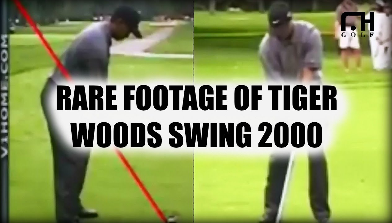 Rare Footage Of Tiger Woods Golf Swing In 2000 Youtube