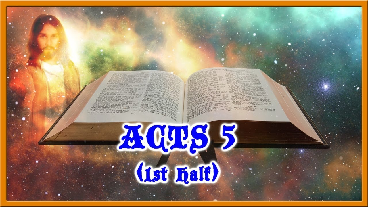 Acts 5 Study Part 1 What Happened To Ananias And Sapphira