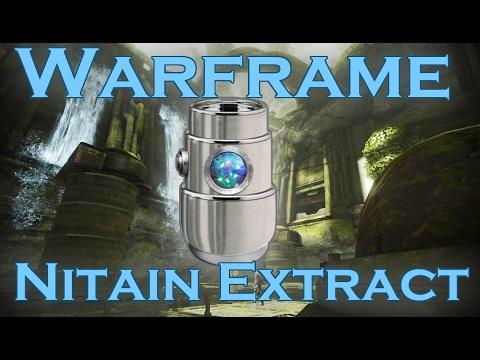 Warframe: How to Get Nitain Extract