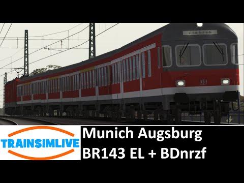 Train Simulator 2015 - Munich Augsburg, BR143 EL