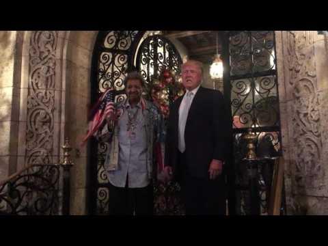 Donald Trump and Don King 2017