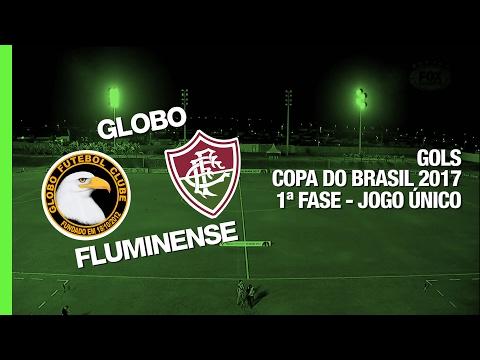 Melhores Momentos - Globo-RN 2 x 5 Fluminense - Copa do Brasil - 15/02/2017