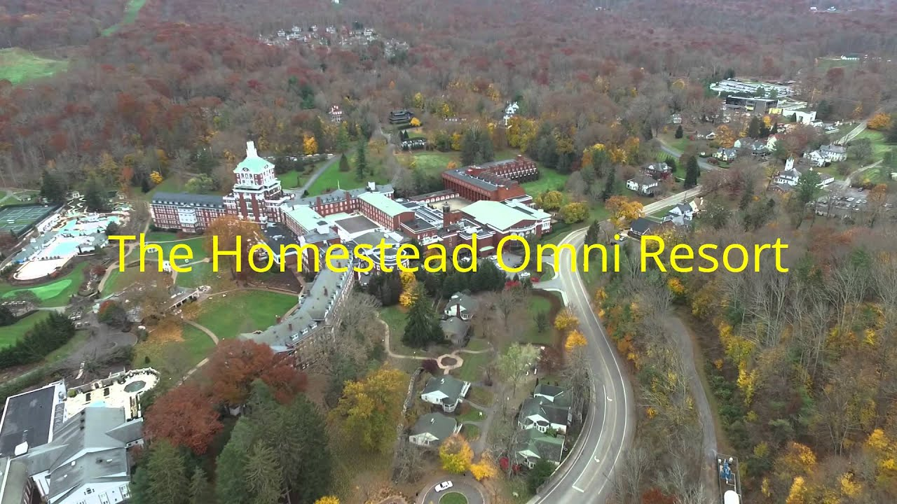 The Homestead Omni Resort Drone Flight Youtube
