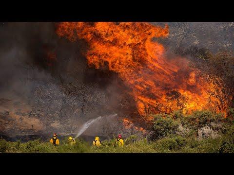 California's 'Apple Fire'