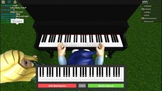 Roblox / How to play faded in piano