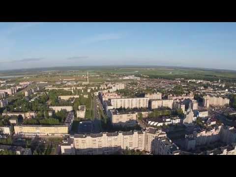 Великий Новгород с высоты - район ул. Большая Московская