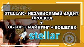 �������� ���� Stellar (XLM) криптовалюта - обзор + аудит + кошельки как хранить и где купить (2018) ������