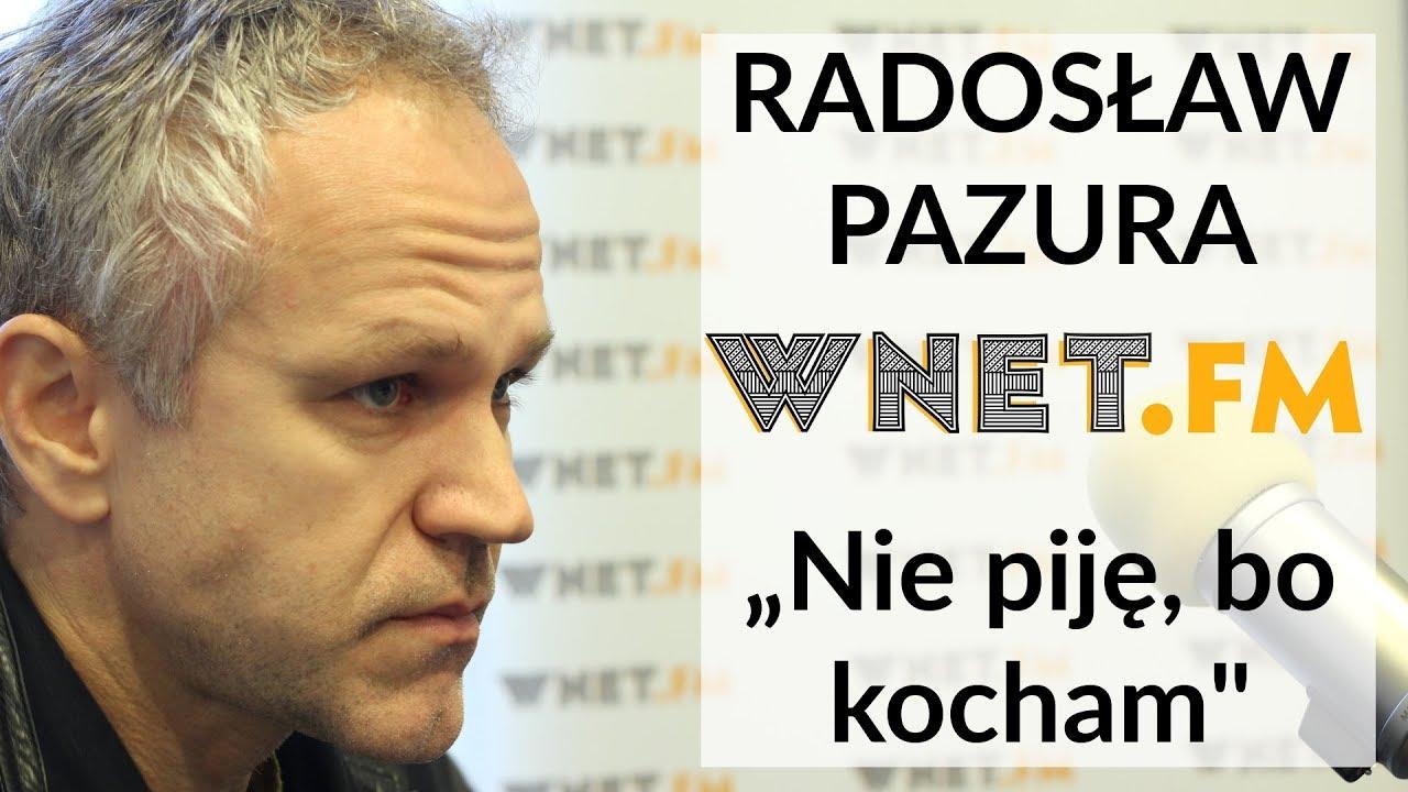 """Radosław Pazura o swej abstynencji. Dlaczego został ambasadorem akcji """"Nie piję, bo kocham"""""""