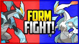 Kyurem: Black vs White | Pokémon Form Fight