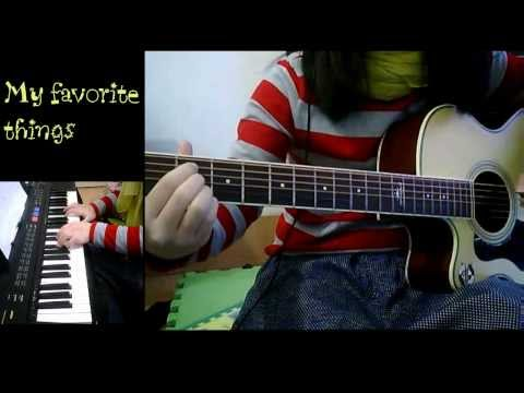 My favorite things  J rabbit easy guitar lesson