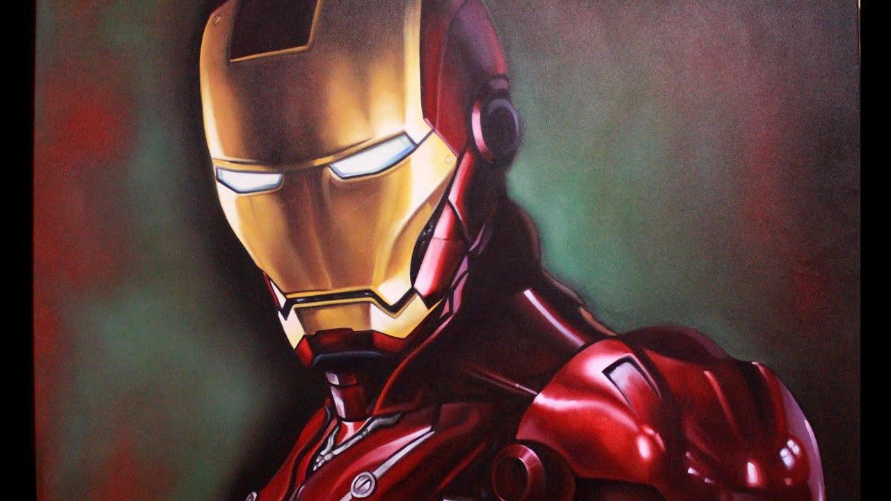 Como Pintar: Homem De Ferro