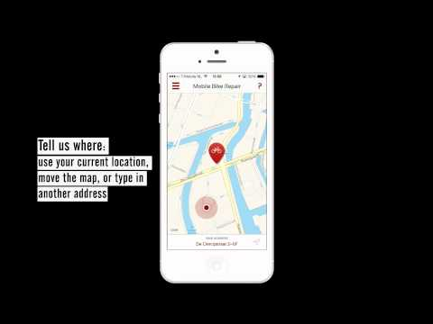 FlatTire for iOS - Get your bike fixed on location in Amsterdam!