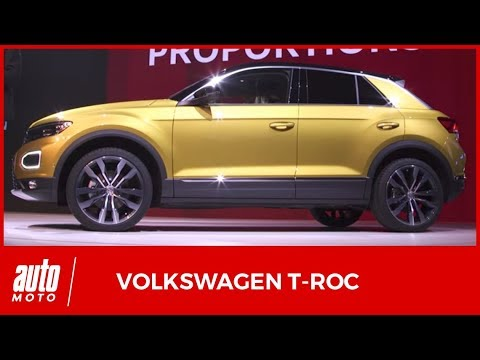 2018 volkswagen t roc la pr sentation compl te du suv. Black Bedroom Furniture Sets. Home Design Ideas