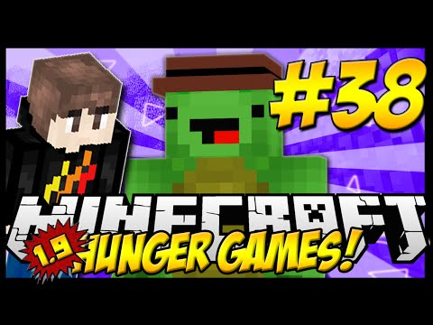 PLAYING WITH LANDONMC's TEXTURE PACK! Minecraft: 1.9 HUNGER GAMES! EP38
