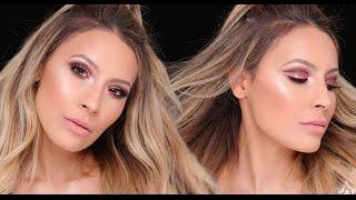 NYE Pink Glitter Cut Crease | Desi Perkins