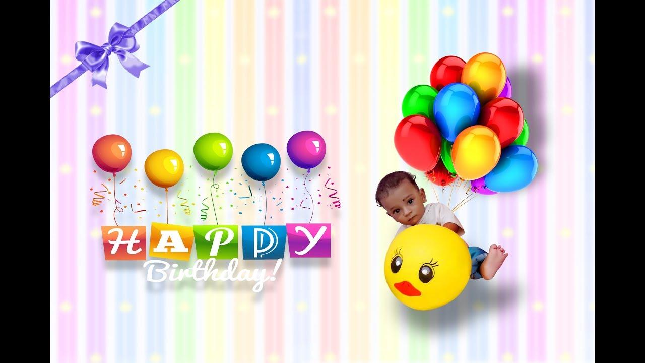 Birthday card editing YouTube – Birthday Card Editing Photo