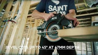 AEG's 18V 184mm Brushless Deep Cut Circular Saw