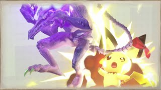 Pichu Shows no Mercy to Ridley!!!