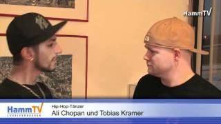 Ali Chopan und Tobias Kramer (Tänzer vom Supertalent) für Charity Steps / RTL Spendenmarathon