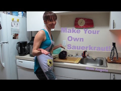 Sauerkraut Making For Digestive Health - How To - Fermentation Station