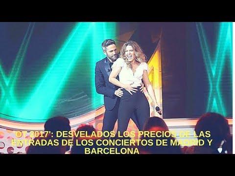 'OT 2017': Desvelados los precios de las entradas de los conciertos de Madrid y Barcelona
