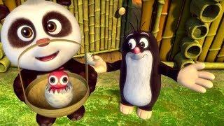Кротик и Панда - Как высиживать яйца🍳 - серия 24- развивающий мультфильм для детей