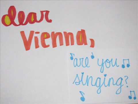 Dear Vienna-Owl City lyrics