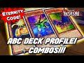 Yu-Gi-Oh! BEST! ABC DECK PROFILE & COMBOS! Post Eternity Code! April 2020 Banlist!