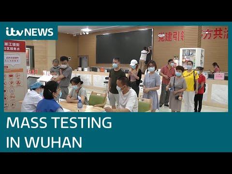 Covid: Mass testing in virus epicentre Wuhan in bid to curb coronavirus outbreak | ITV News