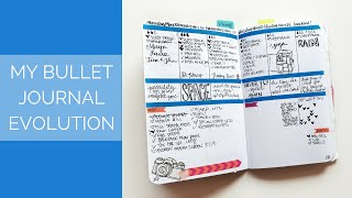 My Bullet Journal Evolution & Tips for Beginners
