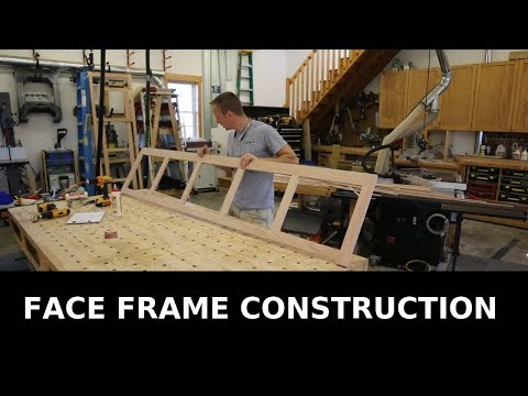 Built-ins Face Frame Construction - Tips and Tricks