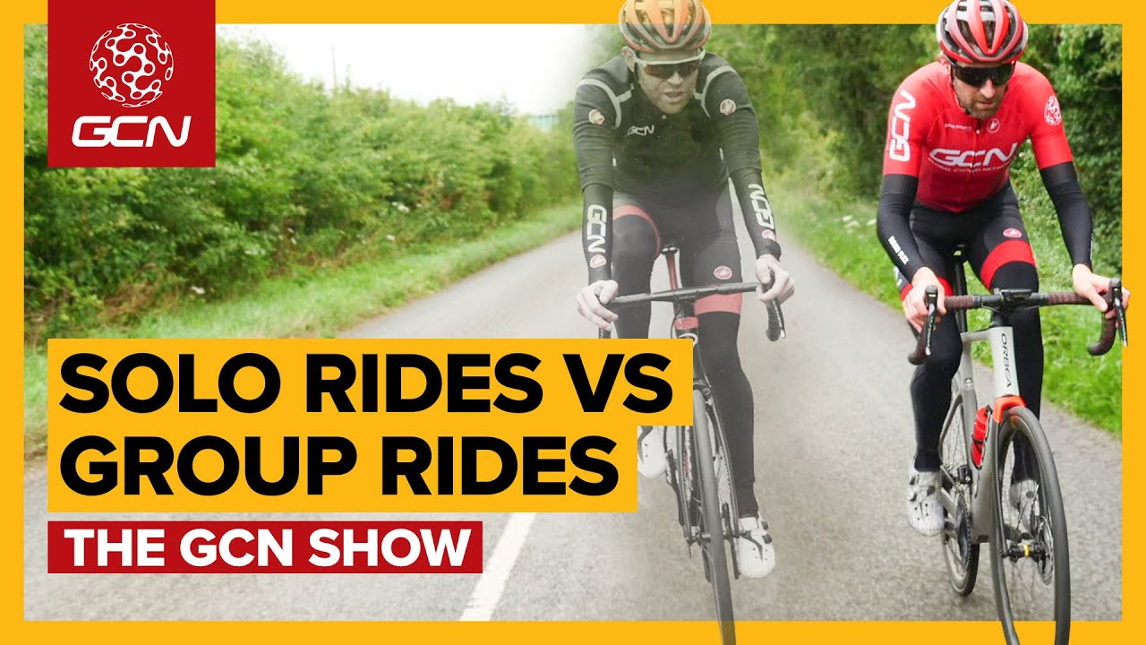 What's The Best Way To Ride Your Bike: On Your Own Or In A Group? | The GCN Show Ep.395