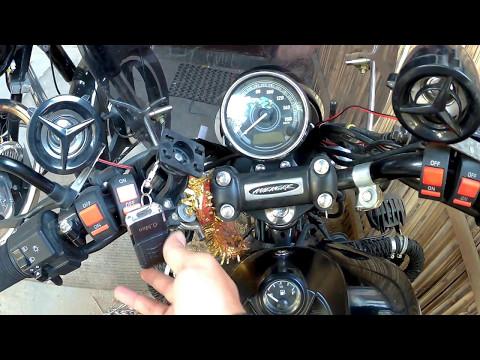 Speaker System for Motorcycle | Bike MP3 player | Bajaj Avenger