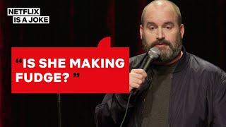 Tom Segura's Reaction to a Woman Masturbating at a Bar | Netflix Is A Joke