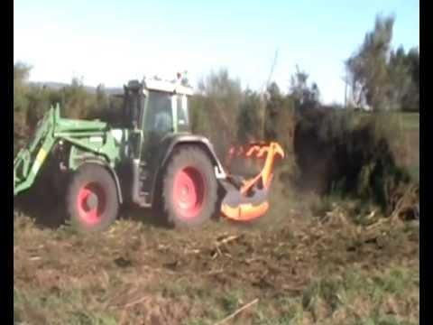 Tractor Con Desbrozadora Forestal R5 - Tmc Cancela thumbnail