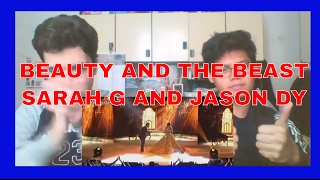 Sarah and Jason perform Beauty and the Beast REACTION