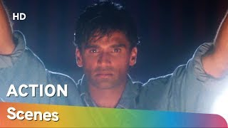 90's Blockbuster Action movie Raghuveer Scenes | Suniel Shetty | Amrish Puri | Shilpa Shirodkar