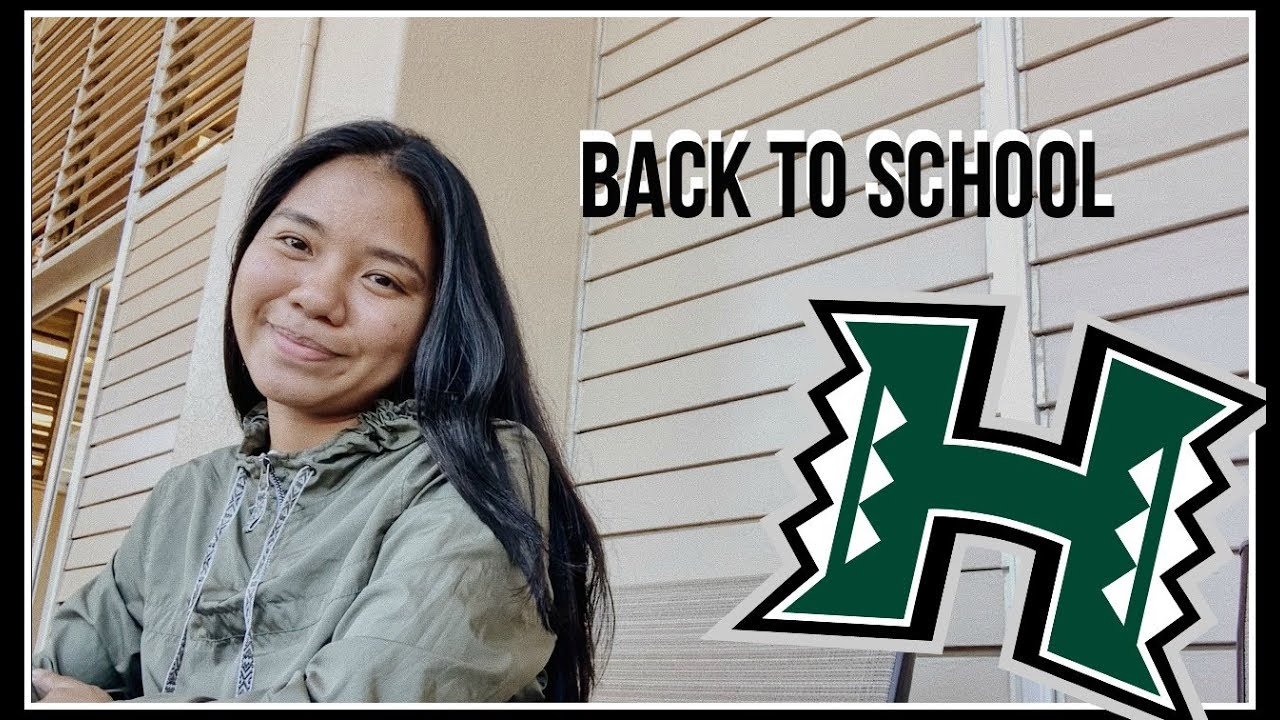 MY FIRST DAY BACK TO SCHOOL | UNIVERSITY OF HAWAII AT MANOA