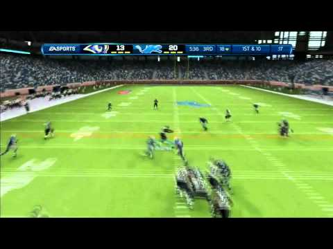 Madden NFL 13: Connected Careers Ft. Marcus Dupree Ep 2
