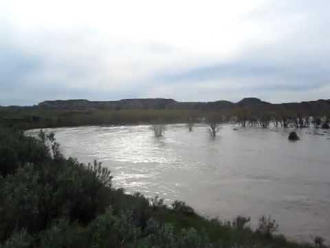 Little Missouri Flood Medora North Dakota May 2011.MOV