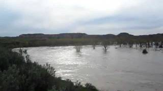 Little Missouri Flood Medora North Dakota May 2011.MOV