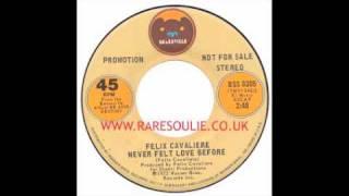 Felix Cavaliere - Never Felt Love Before - Bearsville