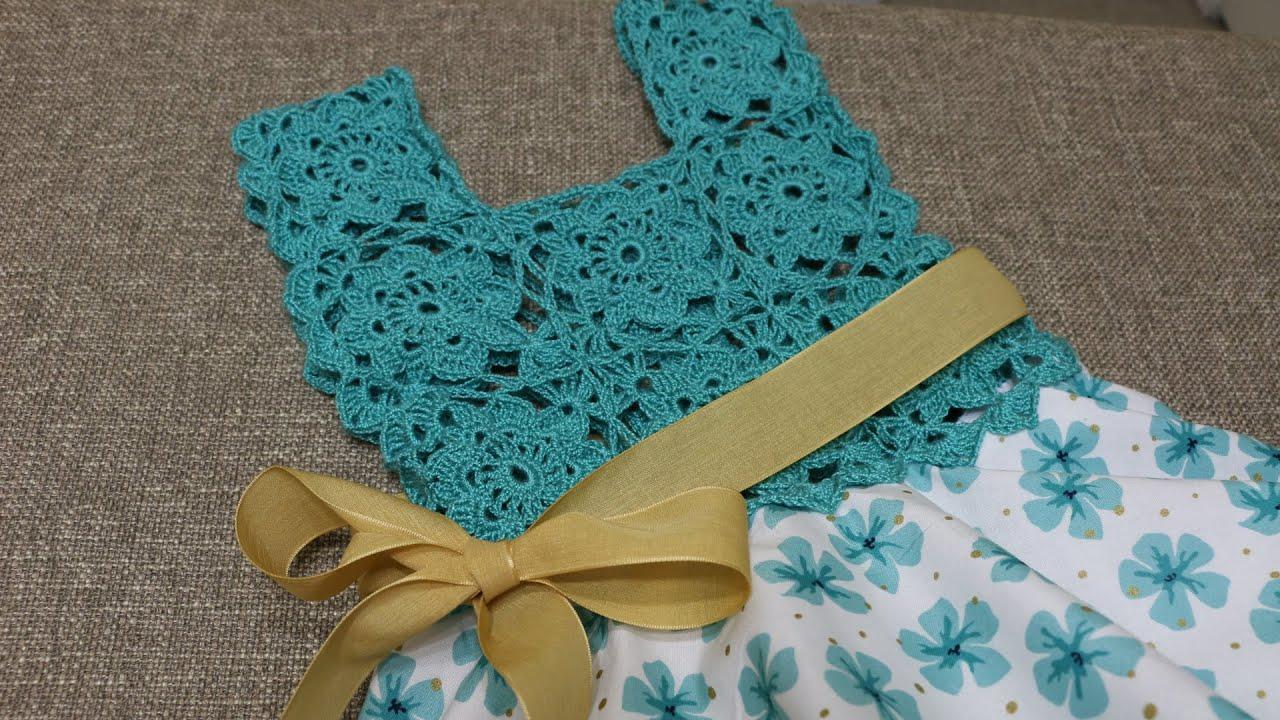 Blusa crochet para vestido circular de tela youtube - Como hacer cuadros de tela ...